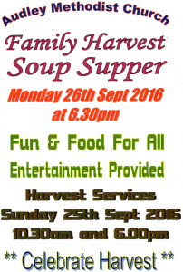 Harvest Supper 2016